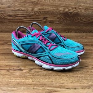 Brooks Pure Flow 3 Teal Minimalist Running Shoes